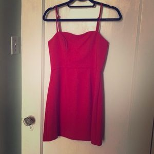 French Connection Red Mini Dress